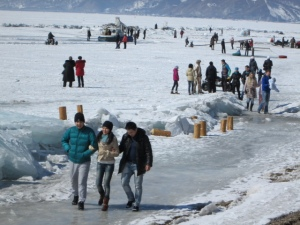 Day out on Lake Baikal