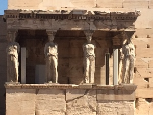 Erechtheion close-up side view