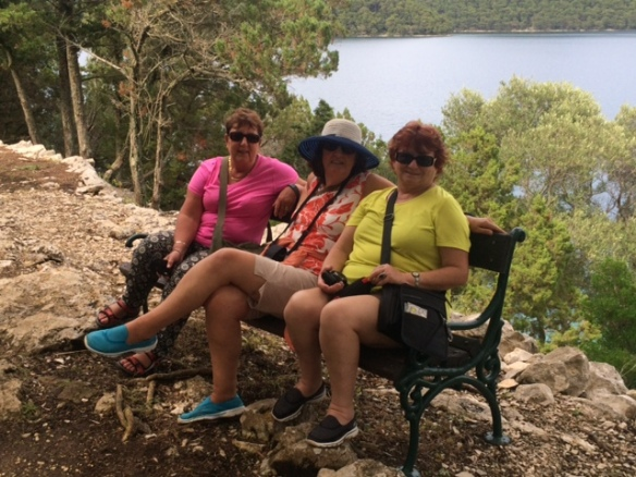 Mljet - St Mary's Island Time out