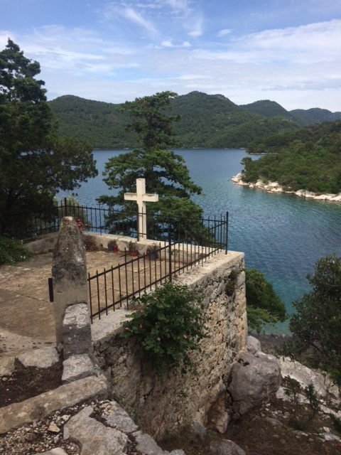 Mljet - St Mary's Island Cross