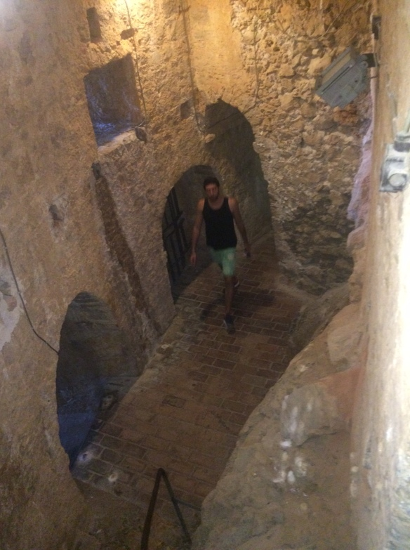 Hvar Castle - the dungeons.