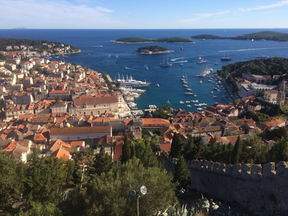 Hvar - view from the castle