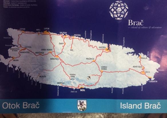Brac - the island - Bol - the port