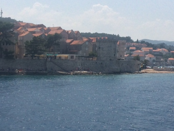 Korcula - fortified remains.