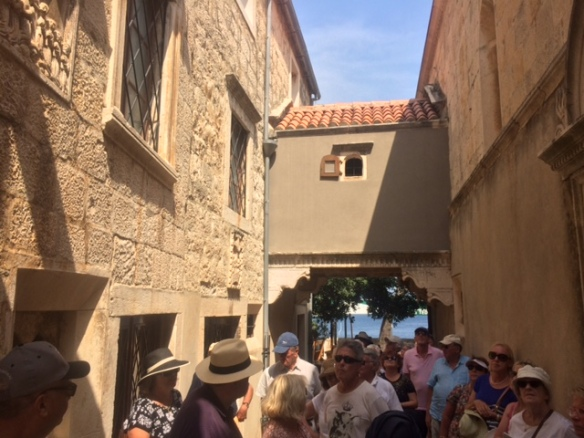 Korcula - Old Town entry.