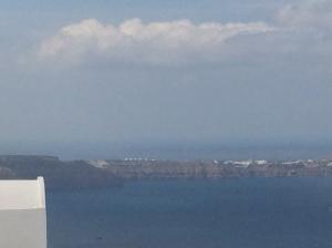Santorini Ferry approach