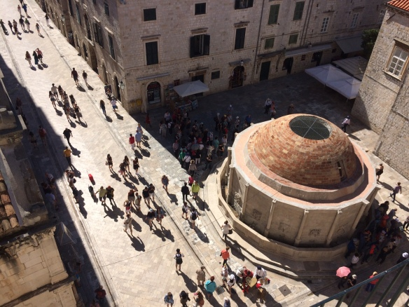 Dubrovnik - City Wall - Fountain