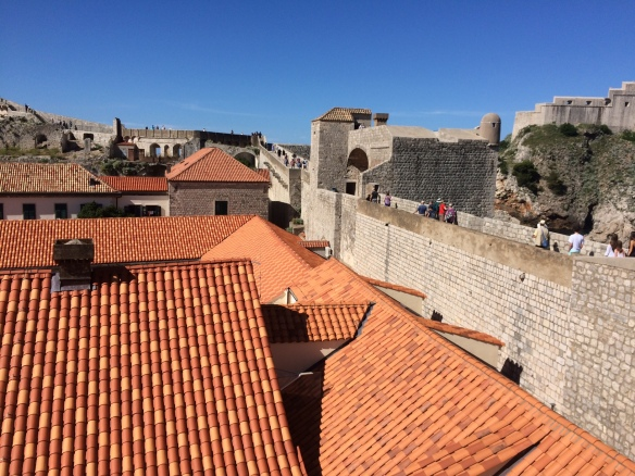 Dubrovnik - City Wall - Rooftops