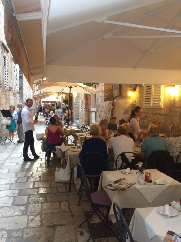 Dubrovnik - Street Restaurants