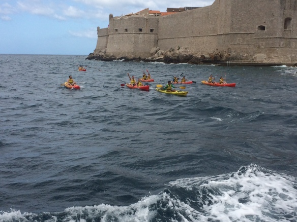 Dubrovnik - kayaking