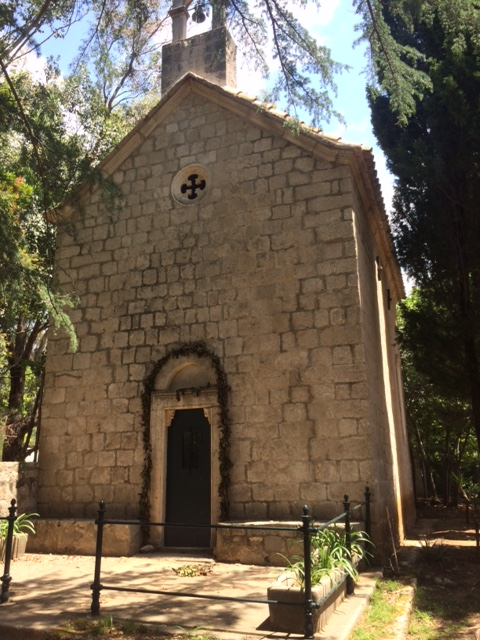 Lokrum - old church
