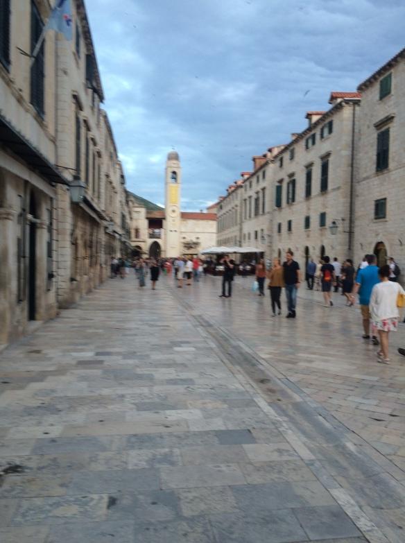 """Dubrovnik Old Town - """"shame, shame"""""""