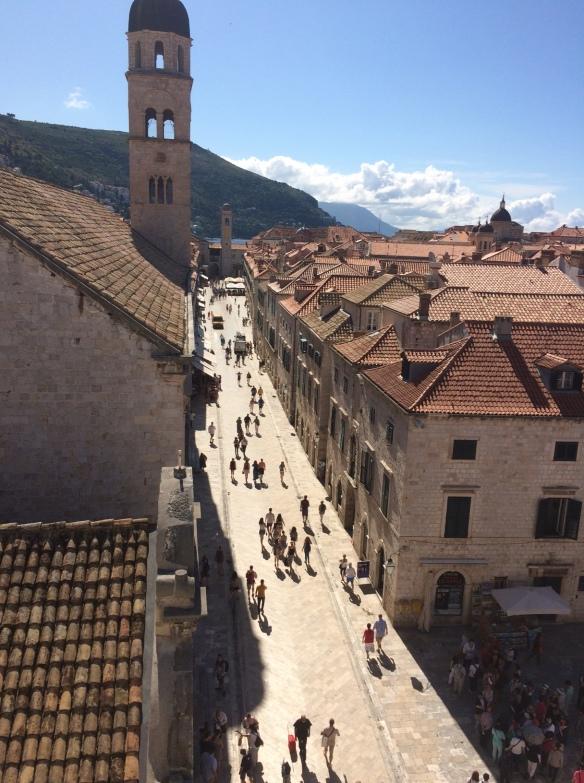 """Dubrovnik Old Town - """"shame, shame"""" again"""