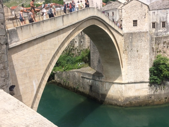 Mostar - the diving bridge
