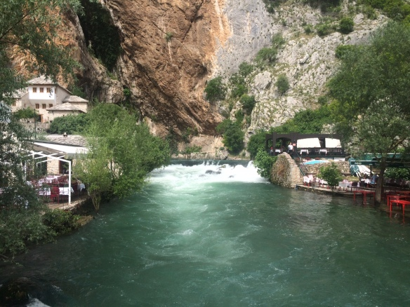Blagaj - The source of the Buna River