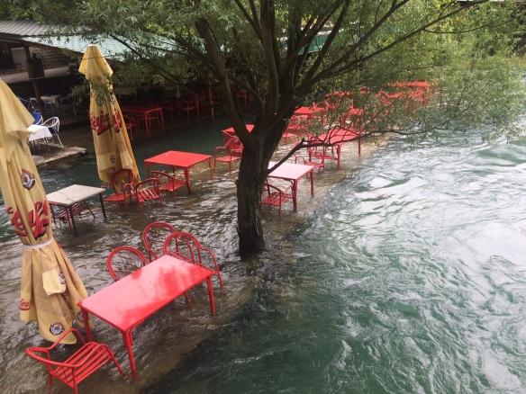 Blagaj - Buna River flooding