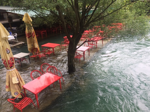 Blagaj - Buna River flooding