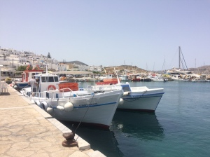 Naussa - such a pretty spot.