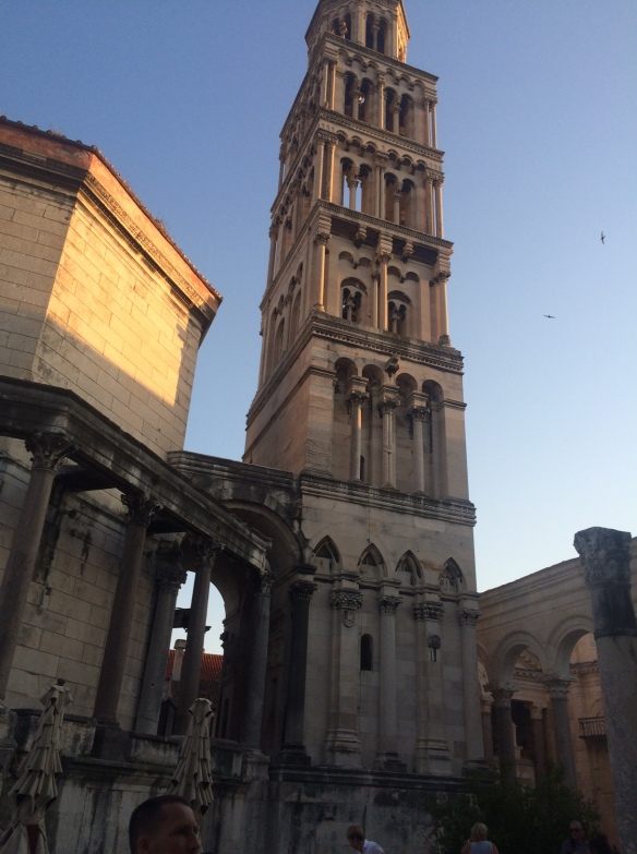 Split - Dioclesian Palace - bell tower.