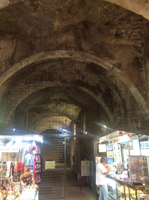 Split - Dioclesian Palace - labyrinths.