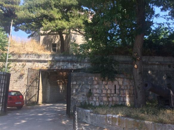 Split Maritime Museum entrance.