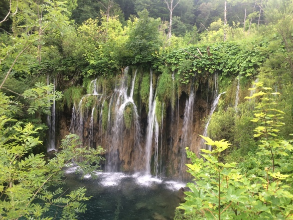 Plitvic - waterfall 1