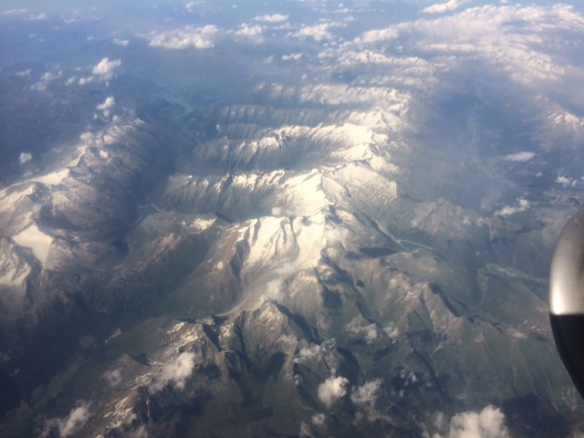 Zadar to Stanstead - The Alps