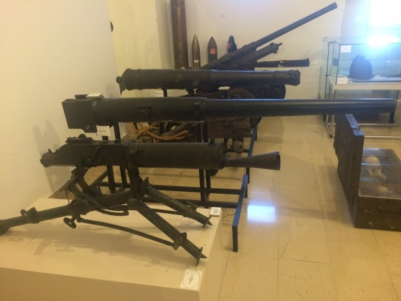 Split - Maritime Museum - guns.